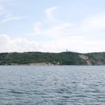 Leuchtfeuer Dornbusch/Hiddensee im Norden der Insel Hiddensee