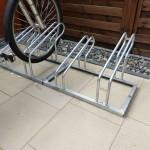 Fahrradständer mit 4 Stellmöglichkeiten