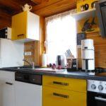 Vollwertig ausgestattete Küche